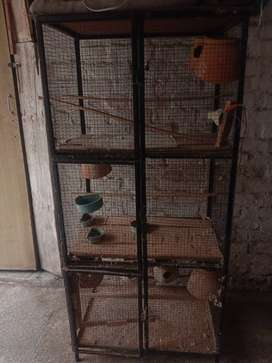 CAGES for parrots 3 cages for sale