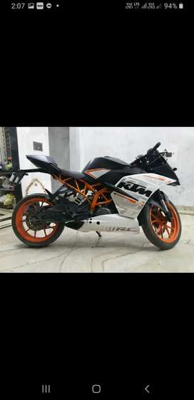 KTM RC 390 GOOD CONDITION AND BIKE NUMBER IS  UP11 AZ 4444
