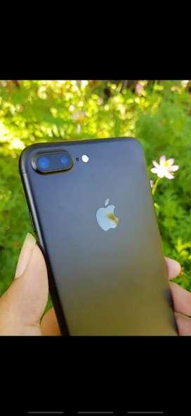 Secondhand Iphone 7+ 128GB Black Matte (Nego alus gan)