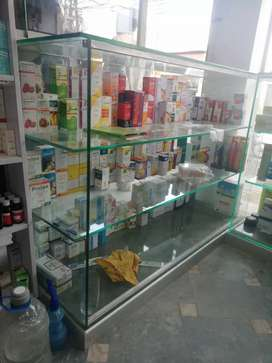 Medicine & cosmetic counter