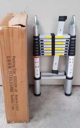 tangga lipat telkom 5m anti slip dan anti goyang