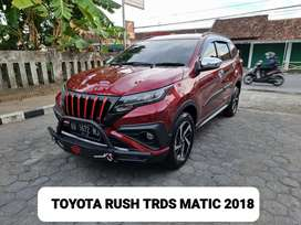 Toyota rush trds matic 2018