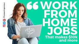 LIFETIME WORK AVAILABLE WORK FROM HOME