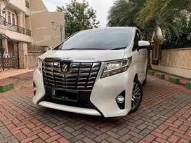 Toyota Alphard 2.5 G ATPM White Pearl PAJAK PANJANG