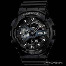 Casio G-SHOCK GA-110-1B Waterproof Watch Black