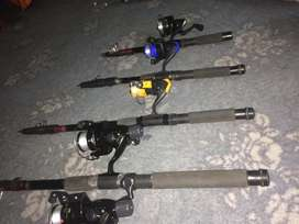Imported fishing equipment available