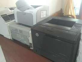Printer HP laserjet Gratis sewa & Perawatan