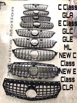 Benz GTR style front grill