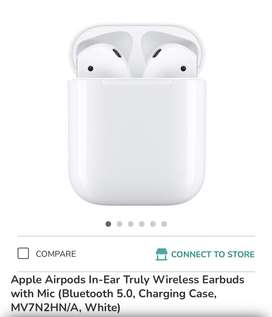 Airpod 2 New & Sealed Pack