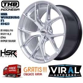 velg racing HSR ring 19 lubang 5 model terbaru bisa cas dan kredit