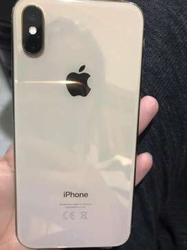 iPhone xs 256 gb pta approved (gold)both physicl and digital sims pta