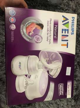 AVENT PHILIPS NATURAL BREAST PUMP COMFORT SINGLE ELECTRIC