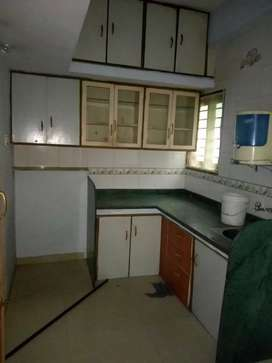 Main road touch 1 bhk semi furnished flat