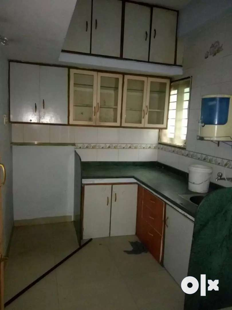 Main road touch 1 bhk semi furnished flat 0