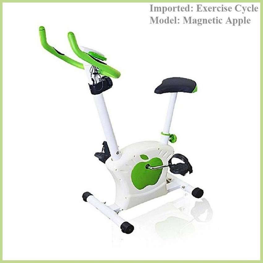 Apple Magnetic Exercise Cycle, Gym Bike ,It's never too late to lose t 0