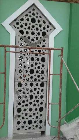 jasa pembuatan krawangan GRC ,pasang & design di daerah Plered