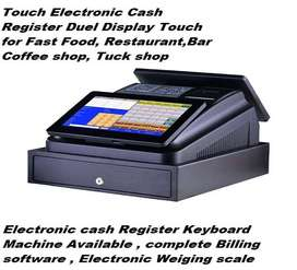 Duel display touch Billing machine duel display touch for Restaurants