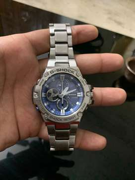 G Shock Silver steel watch for sale