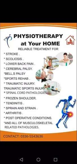 Home Physiotherapy & Chiropractor Service