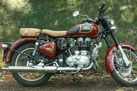 BULLET CLASSIC chestnut red no scratch no dent