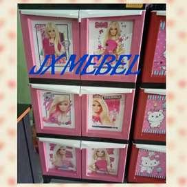 JX MEBEL Lemari Anak Barbie Pku
