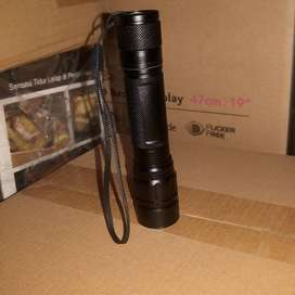 Senter Police Taffware Mini Telescopic Focus Cree XML-T6 3500 Lumens