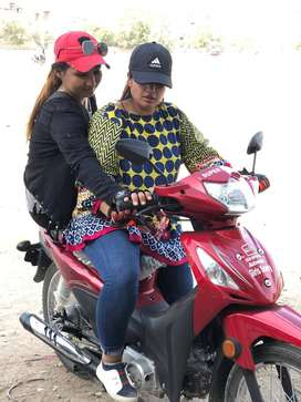 Girls automatic scooty