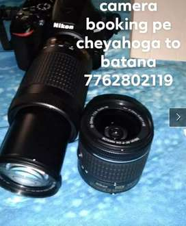DSLR for rent purpose with cameraman for 2hrs to 3hrs
