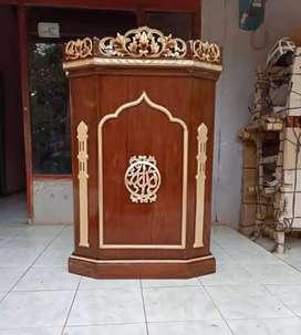 mimbar masjid musola kekinian