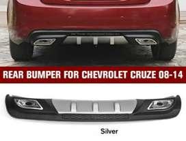 Cruze back bumper diffuser