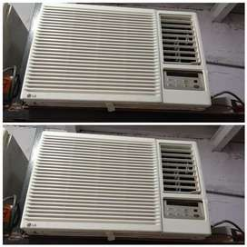 Warranty 1 year on compressor @@@window Ac @@@delivery free available