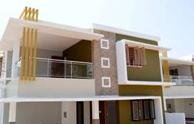 @SHORANUR - Well Designed Luxurious 4BHK Villa For Sale