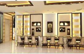 Posh Jewelry or showroom 3000 sqft three floors at mg road
