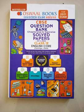 Class 12 English Oswaal Question Bank & solved papers