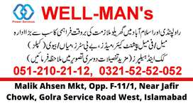 Domestic Maid, Baby Sitter, Patient Care Male & Female JOBS