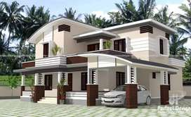 Beautiful individual house 3 bhk ready to move with 3 cents land near