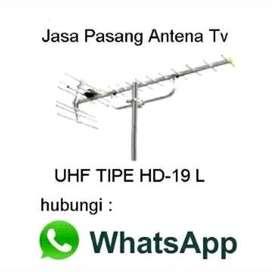 Siap Terima Pasang Antena TV UHF Digital HDU
