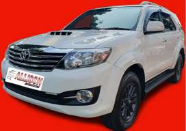 Fortuner Diesel 4WD(4x4) AT 2014 Putih #Top Condition#