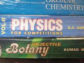 Books for medical entrance preparation  and Sample question papers