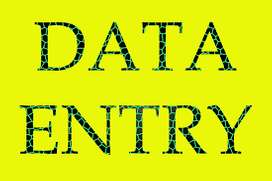 Earn good and best work from data entry online ofline work.
