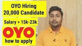 OYO process Walk in interview for freshers and Experienced candidates