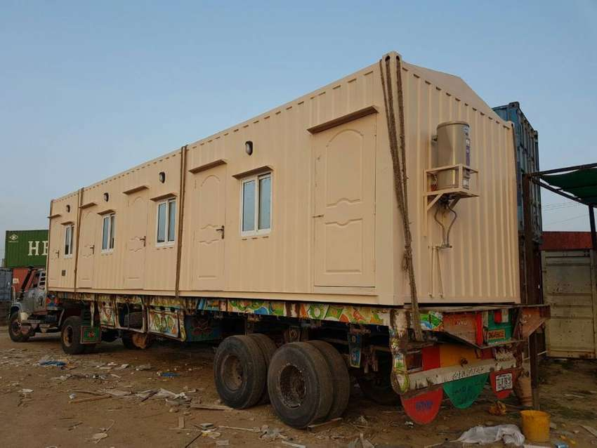 High Quality Prefab Security Cabin, bullet proof cabin in islamabad 0