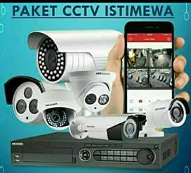 KAMERA CCTV 2MP PAKET LENGKAP ALAT BANTU KEAMANAN