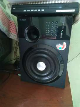 F&D home theatre with F&D DVD PLAYER
