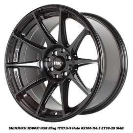 Velg Mobil Mazda 2, Swift, Xenia, Kijang dll RIng 17 HSR SHINJUKU