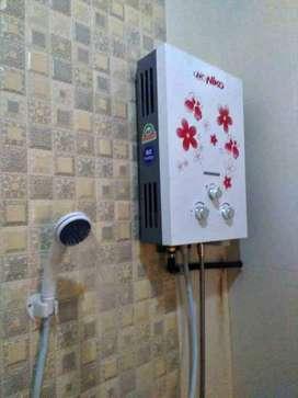 Pemanas Air Gas elpiji Komplit