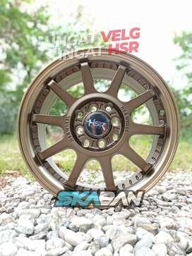 hsr wheel gymkana ring 15x6,5 h8(100/114,3) utk brio,ayla,agya,datsun