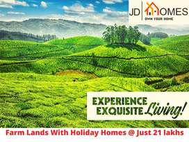 Holiday Homes with Farm Land at Just 22 lakhs