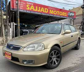 Honda Civic Exi 1500cc Model 1999 Manual