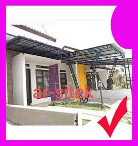 kanopi kusen aluminium almini  rooftop galvalum canopy plafond plapon